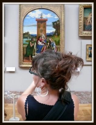 olibrius - contrepoints - elle au musée